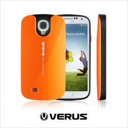 Funda Silicona + PC Hybrid Verus Oneye Samsung Galaxy S4 Naranja