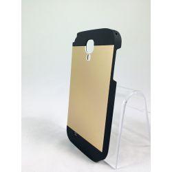Funda Carcasa Trasera de Aluminio MOTOMO para Samsung Galaxy S4 Dorado