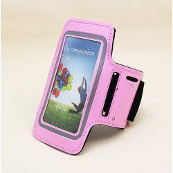Funda Brazo Rosa Reflectante de Neopreno para Samsung Galaxy S3 y S4