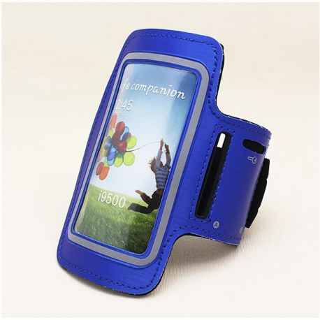 Brazalete Rosa Reflectante de Neopreno para Samsung Galaxy S3 y S4