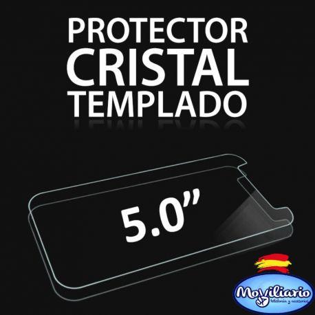 Protector de pantalla de cristal templado para Smartphones de 5 Pulgadas