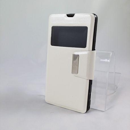 Funda con Tapa y Ventana Sony Xperia Z1 Compact Blanco