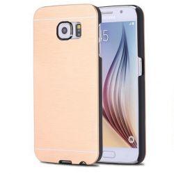 Carcasa Trasera de Aluminio para Samsung Galaxy S6 Oro