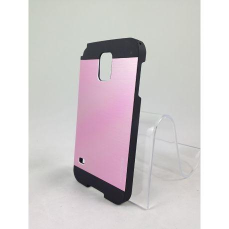 Carcasa Trasera de Aluminio MOTOMO para Samsung Galaxy S5 Rosa