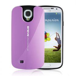 Funda Silicona + PC Hybrid Verus Oneye para Samsung Galaxy S4 Violeta