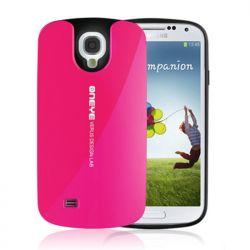 Funda Silicona + PC Hybrid Verus Oneye Samsung Galaxy S4 Rojo Rosado