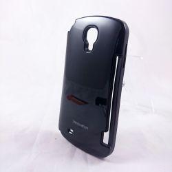Funda Innovation con Tarjetero para Samsung Galaxy S4 Negro