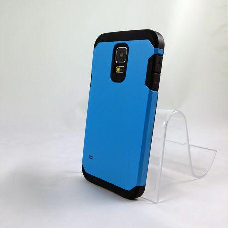 Funda Trasera Tipo Tough Armor para Samsung Galaxy S5 Azul