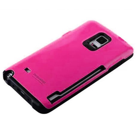 Funda Trasera Innovation tipo Slim Armor Samsung Galaxy Note 4 Rosa
