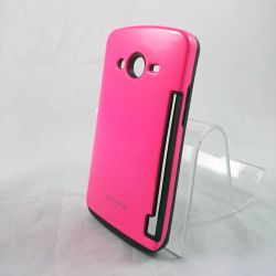 Funda Rosa Innovation con tarjetero para Samsung Galaxy Core 2 G355H