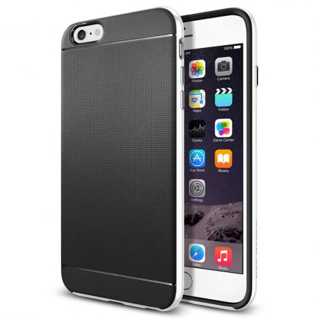 Funda tipo Neo Hybrid para iPhone 6 Plus Blanco
