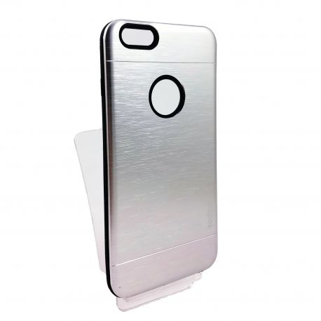Funda YouYou de Aluminio color Plata para Iphone 6 y 6S