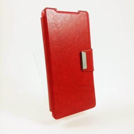 Funda Flip Cover con cierre de Iman Sony Xperia Z2 Rojo
