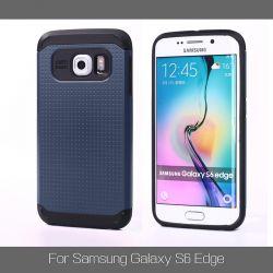 Funda tipo Slim Armor para Samsung Galaxy S6 Edge Pizarra