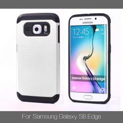 Funda tipo Slim Armor para Samsung Galaxy S6 Edge Blanco