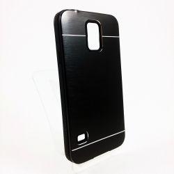 Funda trasera de Aluminio Negro para Samsung Galaxy S5