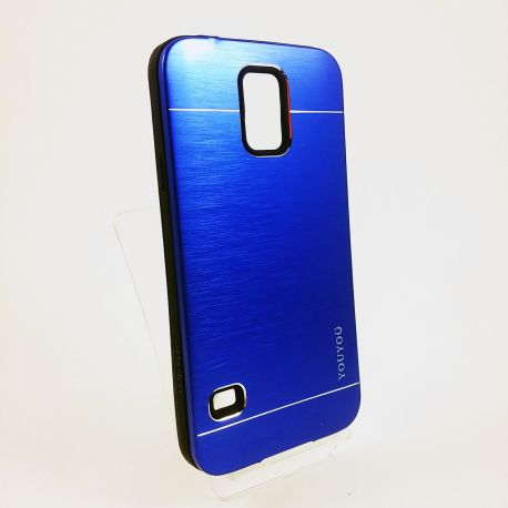 Funda trasera de Aluminio Azul para Samsung Galaxy S5