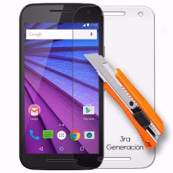 Protector de pantalla de cristal templado para Motorola Moto G3
