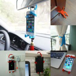 Soporte universal flexible para Iphone y otros smartphones, multiusos