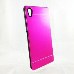 Funda trasera YouYou Aluminio y Silicona Sony Xperia Z5 Rosa