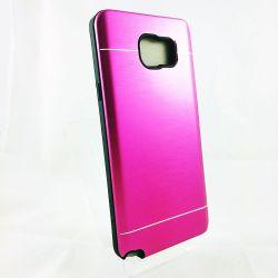 Funda trasera YouYou Aluminio y Silicona Samsung Galaxy Note 5 Rosa