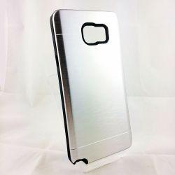 Funda trasera YouYou Aluminio y Silicona Samsung Glaxy Note 5 Plata