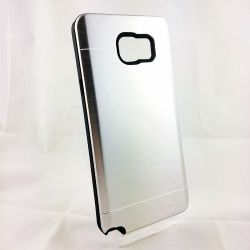 Funda trasera YouYou Aluminio y Silicona Samsung Galaxy Note 5 Plata