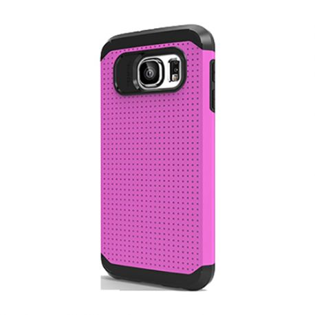 Funda tipo Slim Armor para Samsung Galaxy S6 Rosa