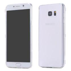 Funda con Tapa de TPU Clear Flip para Samsung Galaxy Note 5 Transparente