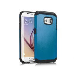 Funda trasera tipo Tough Armor para Samsung Galaxy S6 Azul