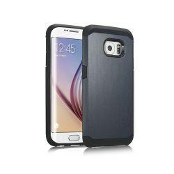 Funda trasera tipo Tough Armor para Samsung Galaxy S6 Azul Pizarra