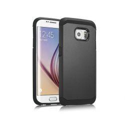 Funda trasera tipo Tough Armor para Samsung Galaxy S6 Negro