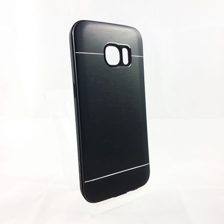 Funda YouYou trasera de Aluminio Negro para Samsung Galaxy S7