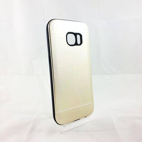 Funda YouYou trasera de Aluminio para Samsung Galaxy S7 Oro