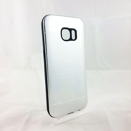 Funda YouYou trasera de Aluminio para Samsung Galaxy S7 Plata