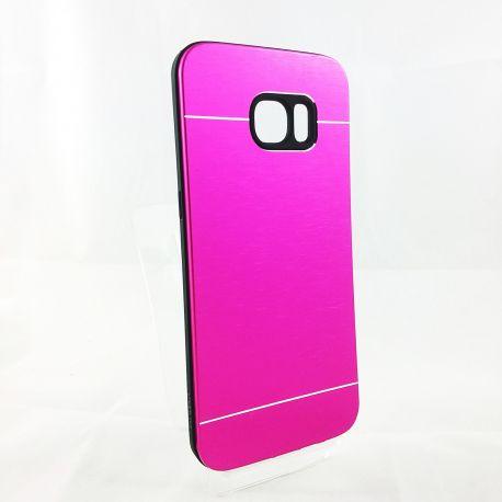Funda YouYou trasera de Aluminio para Samsung Galaxy S7 Edge Rosa