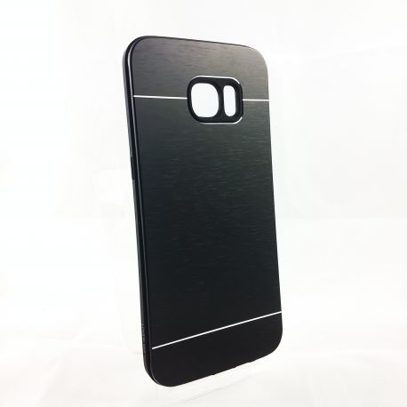 Funda YouYou trasera de Aluminio para Samsung Galaxy S7 Edge Negro