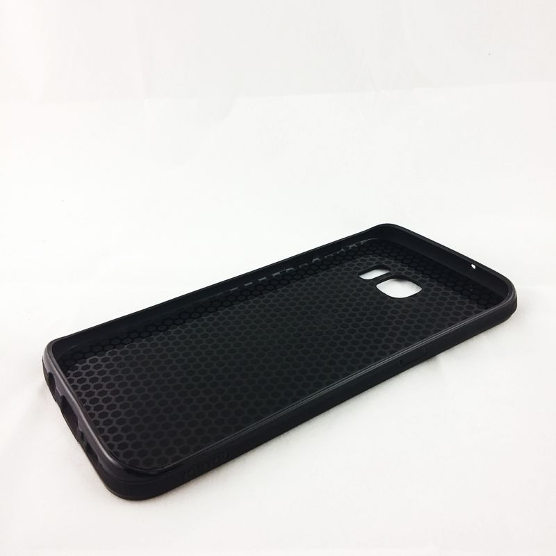 f730538acad Funda YouYou trasera de Aluminio para Samsung Galaxy S7 Edge Negro