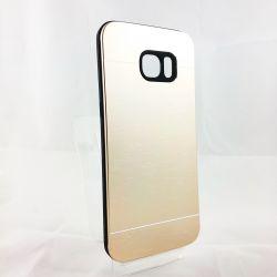 Funda YouYou trasera de Aluminio para Samsung Galaxy S7 Edge Oro
