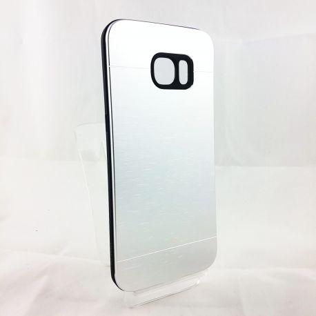 Funda YouYou trasera de Aluminio para Samsung Galaxy S7 Edge Plata