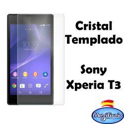 "Protector de pantalla de cristal templado para Sony Xperia T3 5.3"""