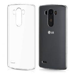 Funda TPU Transparente para LG G3 Silicona