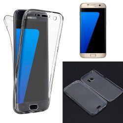 Funda TPU Doble Frontal Trasera 360 Ultra thin Samsung Galaxy S7 Edge