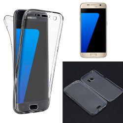 Funda TPU Doble Frontal y Trasera 360 Ultra Thin Samsung Galaxy S7