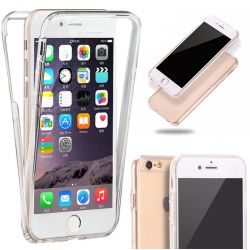 Funda Silicona Doble 360 Delantera Trasera Iphone 6 Plus y 6S Plus
