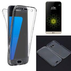 Funda TPU Doble Frontal y Trasera 360 Ultra Thin Silicona Fina LG G5