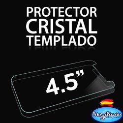Protector Pantalla Cristal Templado Universal Móviles de 4,5 Pulgadas