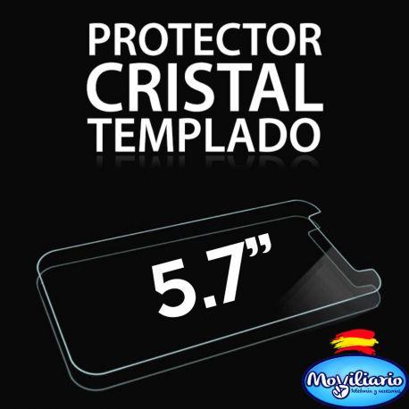 Protector Pantalla Cristal Templado Universal Móviles de 5,7 Pulgadas