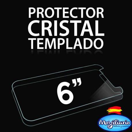 Protector Pantalla Cristal Templado Universal Móviles de 6 Pulgadas