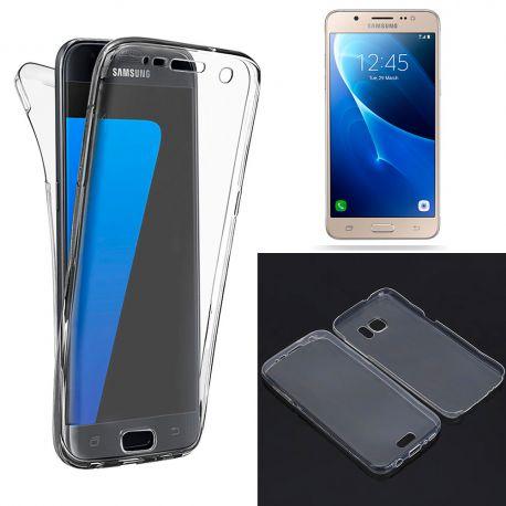Funda TPU Doble Frontal Trasera 360 Ultra Fina Samsung Galaxy J5 2016